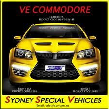 HEADLIGHTS FOR VE COMMODORE HSV E1 E2 E3 CLUBSPORT, GTS, MALOO BRAND NEW PAIR
