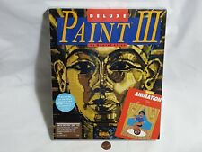 New Deluxe Paint Iii Amiga Computer Software Sealed Ea art painting 3 Us Ntsc