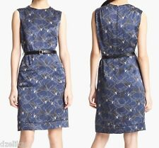 NWT $995 Marc Jacobs Panther Print Silk Dress Size 4