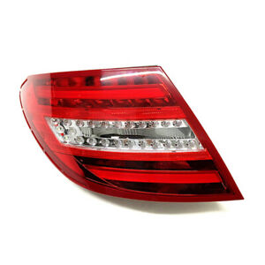 ABS Left Tail Light Taillamp Driver Side Fit For Benz C W204 C250 C300 C350 AMG