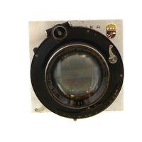 """Vintage C.P Goerz Dogmar 12"""" f/4.5 Lens in Compound Shutter on Technika Board UG"""