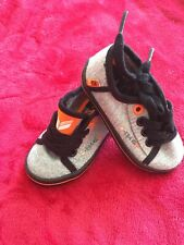 Baby Boy Plimsolls Trainers Sneakers Size 4 Infant