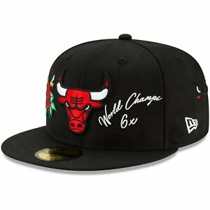 New Era 59Fifty Fitted Cap - MULTI GRAPHIC Chicago Bulls