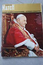 paris match n°731 / paques pape jean XXIII 23 / 1963 A2
