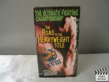 Ultimate Fighting Championship XVIII - The Road to the Heavyweight Title (VHS...