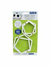 Football Pattern Cake Decoration Sugarpaste Cutters By PME