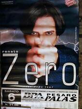 RENATO ZERO 100x70 tour poster molto RARO! TOUR DOPO TOUR 1996