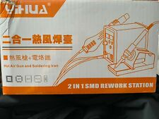 Yihua 898D 2 in 1 SMD Rework Station Soldering Iron + Hot Air 898-MB1