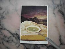 Postkarte Ernst Kahl Die Suppe von Loch Ness