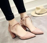 Summer Women Dress Shoes High Heels Boat Pointed Toe Pumps Party Wedding Wearing