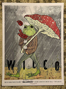 Wilco-Ode To Joy Tour Poster-Portland, OR-10/06/21-Sold Out/Limited Edition/#'ed