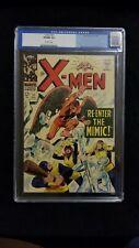 X-MEN #27 CGC 9.0 1966 O/W Pages Re-enter The Mimic