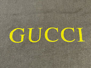 Authentic Gucci Dust Bag BROWN ~ 21inx21in for shoes, belts, bags etc