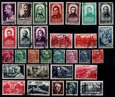 L'ANNÉE 1948 Complète, Oblitérés = Cote 35 € / Lot Timbres France n° 793 à 822