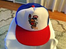 USA Olympics McDonald's Red White & Blue Embroidered Trucker Cap Vintage 1984