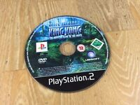 PS2 Playstation 2 Pal Game PETER JACKSONS KING KONG *DISC ONLY*