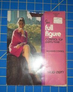 Sears Hugalon Full Figure Control Top Pantyhose, Toast, Tall