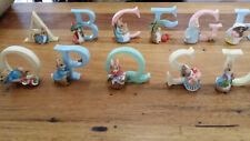 Beatrix Potter Alphabet Letters Initials Baby Peter Rabbit Baby Bunnies Gift