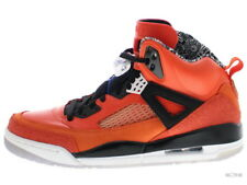 JORDAN SPIZIKE 315371-805 orange flash/bl rbbn-blck-wht Size 10.5