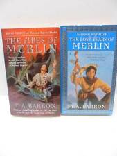 The Lost Years Of Merlin The Fires Of Merlin T.A Barron 2 Book Lot Paperback