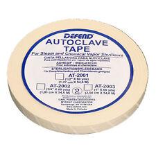 "DEFEND 1"" x 60 yds Autoclave Sterilization Indicator Tape TATTOO DENTAL USA SHIP"