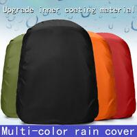 1 Pcs 35L Waterproof Dust Rain Cover Portable Rainproof Backpack Cover WF
