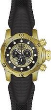 Invicta 52mm Venom Sea Dragon Chronograph 18k Gold Plated 1000m Silicone Watch