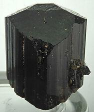 BLACK TOURMALINE Healing Gem Crystal Mineral Specimen Madagascar