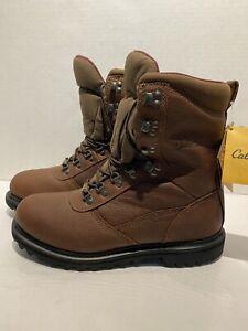 Cabelas Men 12 EE Iron Ridge 800 Leather Goretex Insulated Hunting Boots