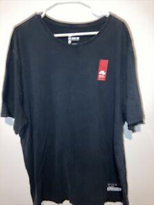 Nike Basketball Men's Size 3XL Air 92 Stripe Athletic T-Shirt 806960 010 Black