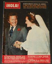 HOLA 1975 Royal Wedding England UK Lady Leonora & Lord Lichfield Royalty magazin
