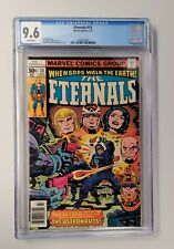 Eternals #13 CGC 9.6 - White Pages - 1st Gilgamesh The Forgotten One