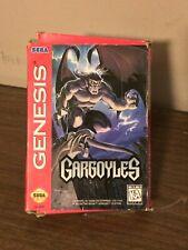 Gargoyles Authentic, Original Box Only Sega Genesis Rough Shape Rule the Night