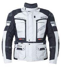 RST 1850 Pro Series Adventure III 3 Textile Waterproof Motorcycle Jacket Silver