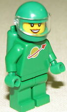 LEGO NEW YVE GREEN MOVIE CHARACTER SPACE ASTRONAUT MINIFIGURE MINIFIG