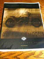 1999 Harley-Davidson Dyna Glide Service Shop Manual Low Rider Super Glide, NEW!