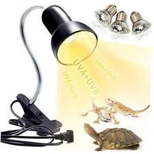 New listing Reptile Heat Lamp, Uva Uvb Reptile Light Basking Spot Lamp, Turtle Aquarium