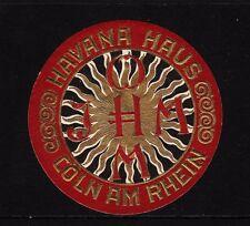 43399/ Reklamemarke - Havana Haus - Cöln am Rhein