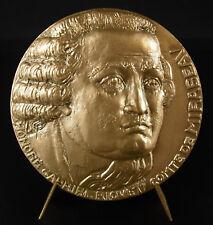 Medalla comte honrado-Gabriel Riqueti de Mirabeau prueba en l despostyisme