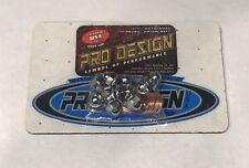 Pro Design Cool Head Rebuild Chrome Acorn Nut Nuts Studs Kit Yamaha Banshee 350