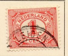 Países Bajos 1898-99 rápida de los problemas Fine Used 1c. 149304