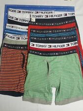 One MEN'S TOMMY HILFIGER COTTON BOXER BRIEF TRUNK  GUY FRONT VERY LOOSE Fit !!!
