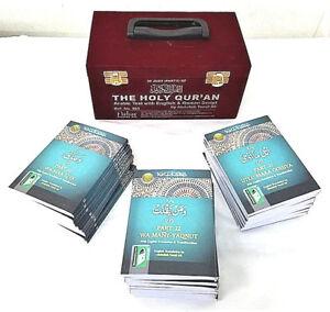30 Para set Arabic/English Transla & Translit(Velvet Carry Box 903)Pocket size