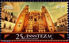 2760 Mexico 2011 - ISSSTE ZACATECAS, 25th ANNIV., ARCHITECTURE, MNH