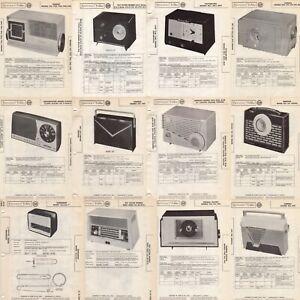 SAMS Photofact Folder VINTAGE Radios AM Clock 1956-1959 Transistor SCHEMATIC