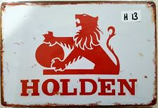 Holden Lion Metal Tin Signs Bar Shed & Man Cave Signs AU Seller