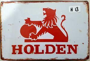 Holden Lion Metal Tin Signs Bar Shed & Man Cave Signs AU Seller