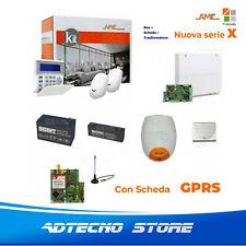 AMC Kit X412GPRS Centrale 4/12 zone + Tastiera KBLUE e modulo GPRS