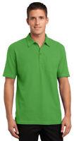 Port Authority Men's New Golf Short Sleeve Wrinkle Free Pocket Polo Shirt. K559