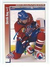 Derek Roy Signed 2004/05 Choice AHL Card #45 Canada 2018 Olympics